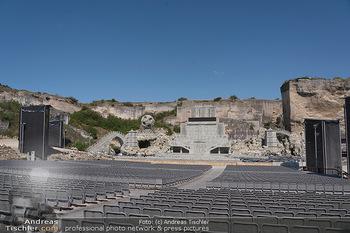 Bühne Turandot - Steinbruch St. Margarethen, Burgenland - Sa 03.07.2021 - Fotos vom Bühnenbild Turandot Oper im Steinbruch61