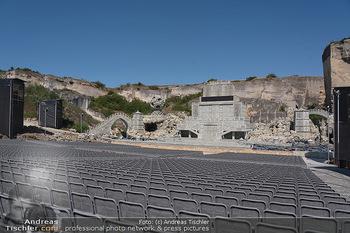 Bühne Turandot - Steinbruch St. Margarethen, Burgenland - Sa 03.07.2021 - Fotos vom Bühnenbild Turandot Oper im Steinbruch62
