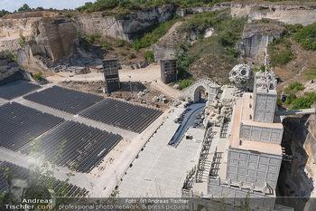 Bühne Turandot - Steinbruch St. Margarethen, Burgenland - Sa 03.07.2021 - Fotos vom Bühnenbild Turandot Oper im Steinbruch69