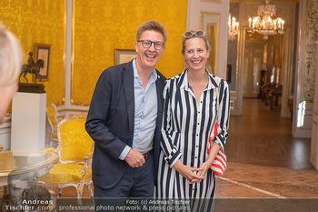 Ausstellung Franz Hubmann - Albertina, Wien - Mo 05.07.2021 - Maxi BLAHA mit Freund Eberhard KOHLBACHER18
