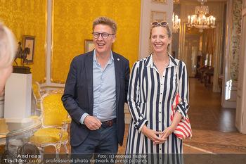 Ausstellung Franz Hubmann - Albertina, Wien - Mo 05.07.2021 - Maxi BLAHA mit Freund Eberhard KOHLBACHER19