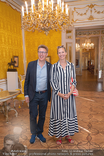 Ausstellung Franz Hubmann - Albertina, Wien - Mo 05.07.2021 - Maxi BLAHA mit Freund Eberhard KOHLBACHER21