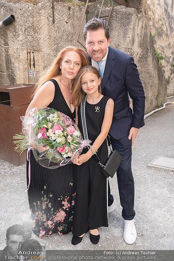 Premiere Turandot - Steinbruch St. Margarethen, Burgenland - Mi 14.07.2021 - Familie Daniel SERAFIN, Martina SERAFIN mit Tochter Elisabeth13