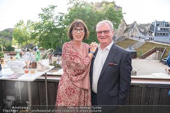 Premiere Turandot - Steinbruch St. Margarethen, Burgenland - Mi 14.07.2021 - Karl WESSELY mit Ehefrau19