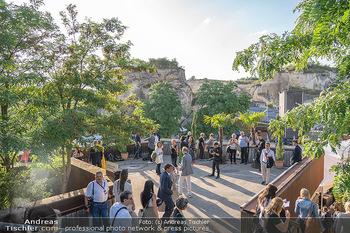 Premiere Turandot - Steinbruch St. Margarethen, Burgenland - Mi 14.07.2021 - VIP Empfang, Sommerfest, Publikum, Gastro, Empfangsbereich48