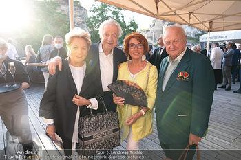 Premiere Turandot - Steinbruch St. Margarethen, Burgenland - Mi 14.07.2021 - Inge und Rudolf Purzel KLINGOHR, Harald und Ingeborg SERAFIN85