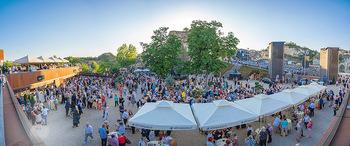 Premiere Turandot - Steinbruch St. Margarethen, Burgenland - Mi 14.07.2021 - VIP Empfang, Sommerfest, Publikum, Gastro, Empfangsbereich95
