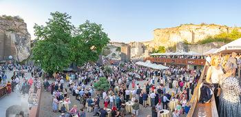 Premiere Turandot - Steinbruch St. Margarethen, Burgenland - Mi 14.07.2021 - VIP Empfang, Sommerfest, Publikum, Gastro, Empfangsbereich98
