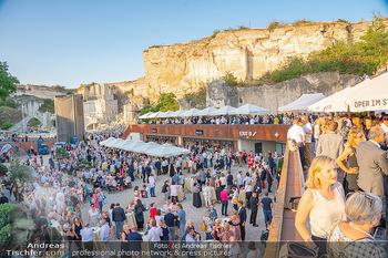 Premiere Turandot - Steinbruch St. Margarethen, Burgenland - Mi 14.07.2021 - VIP Empfang, Sommerfest, Publikum, Gastro, Empfangsbereich99