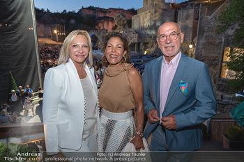 Premiere Turandot - Steinbruch St. Margarethen, Burgenland - Mi 14.07.2021 - Ingrid FLICK, Otto und Shirley RETZER180
