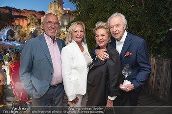 Premiere Turandot - Steinbruch St. Margarethen, Burgenland - Mi 14.07.2021 - Ingrid FLICK, Otto RETZER, Harald und Ingeborg SERAFIN188
