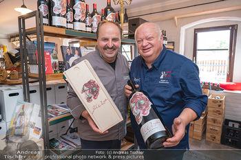 Weinbar Eröffnung - Casa del Vino, Ternitz - Do 15.07.2021 - Jürgen STEINBRECHER, Johann LAFER1