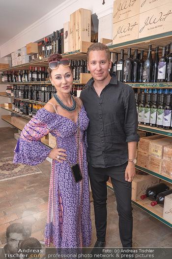 Weinbar Eröffnung - Casa del Vino, Ternitz - Do 15.07.2021 - Clemens TRISCHLER, Christina LUGNER14