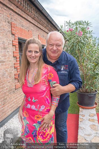 Weinbar Eröffnung - Casa del Vino, Ternitz - Do 15.07.2021 - Jürgen und Nina STEINBRECHER28