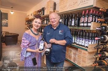 Weinbar Eröffnung - Casa del Vino, Ternitz - Do 15.07.2021 - Jürgen STEINBRECHER, Christina LUGNER30