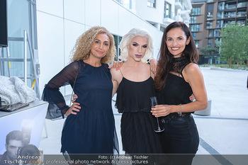 Mode Wien Magazin - Hotel Andaz, Wien - Di 20.07.2021 - Eser AKBABA, Tamara MASCARA, Tanja DUHOVICH1