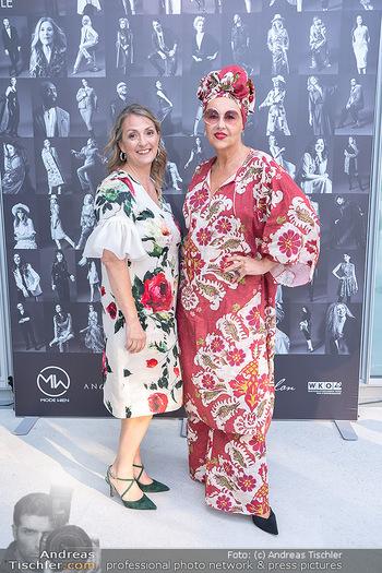 Mode Wien Magazin - Hotel Andaz, Wien - Di 20.07.2021 - Andrea BUDAY, Patrizia MARKUS81