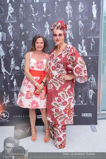 Mode Wien Magazin - Hotel Andaz, Wien - Di 20.07.2021 - Doris FELBER, Andrea BUDAY113