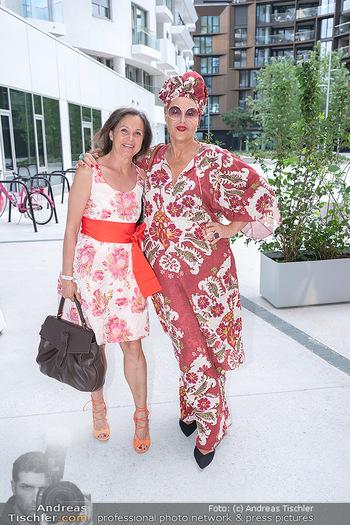 Mode Wien Magazin - Hotel Andaz, Wien - Di 20.07.2021 - Doris FELBER, Andrea BUDAY114