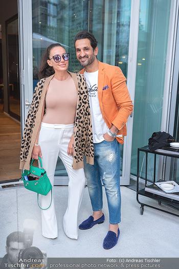 Mode Wien Magazin - Hotel Andaz, Wien - Di 20.07.2021 - Fadi und Ines MERZA141