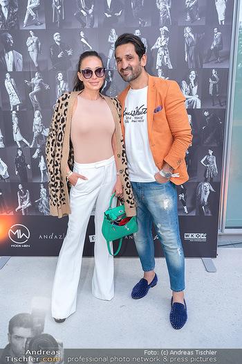 Mode Wien Magazin - Hotel Andaz, Wien - Di 20.07.2021 - Fadi und Ines MERZA142