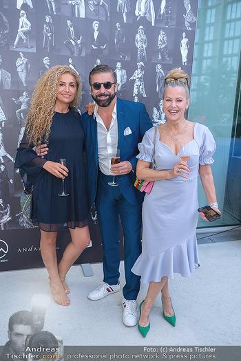 Mode Wien Magazin - Hotel Andaz, Wien - Di 20.07.2021 - Eser AKBABA, Mauro MALOBERTI,  Evelyn RILLE165
