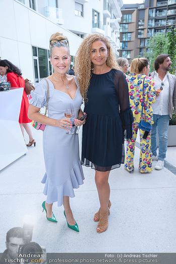 Mode Wien Magazin - Hotel Andaz, Wien - Di 20.07.2021 - Eser AKBABA, Evelyn RILLE166
