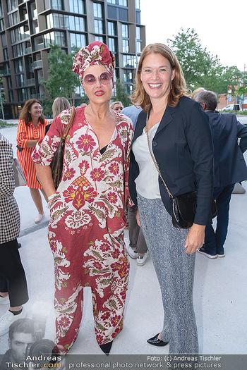 Mode Wien Magazin - Hotel Andaz, Wien - Di 20.07.2021 - Andrea BUDAY, Monique DEKKER195