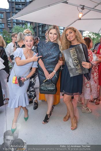 Mode Wien Magazin - Hotel Andaz, Wien - Di 20.07.2021 - Evelyn RILLE, Bianca SPECK, Eser AKBABA254