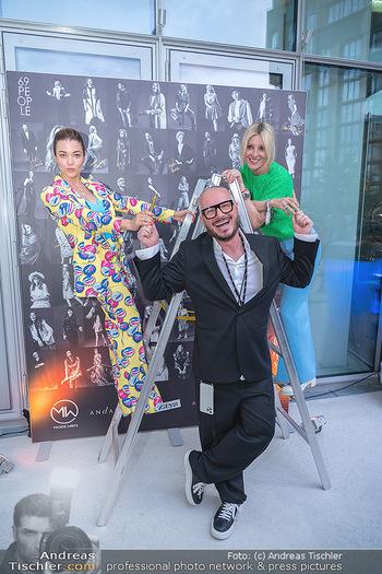 Mode Wien Magazin - Hotel Andaz, Wien - Di 20.07.2021 - Jenny POSCH, Wolfgang REICHL, Billi THANNER260