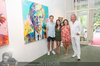 Icons of Pop and Street Art - Villa Bulfon, Velden - Do 22.07.2021 - Familie Künstler VOKA mit Petra VOGEL und Kindern Lenard und Se28
