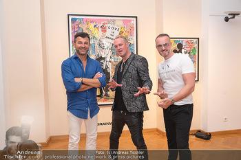 Icons of Pop and Street Art - Villa Bulfon, Velden - Do 22.07.2021 - Bob DJAVAN, Max WIEDEMANN, Jürgen PEINDL64