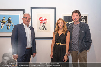 Icons of Pop and Street Art - Villa Bulfon, Velden - Do 22.07.2021 - Familie Gerald HARTINGER mit Kindern Lena und Julian HEIDRICH (L69