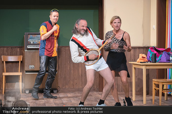 Bühnenfotos Ladies Night - Stadttheater Berndorf - Sa 24.07.2021 - Christoph VON FRIEDL, Reinhold G. MORITZ, Kristina SPRENGER79