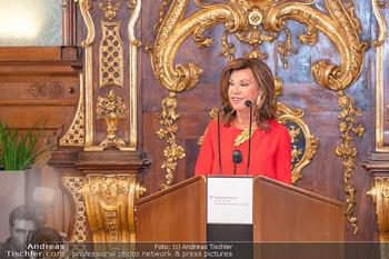Ehrung Michael Garschall - Palais NÖ, Wien - Mi 28.07.2021 - Brigitte BIERLEIN während der Laudatio9