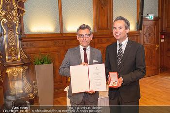 Ehrung Michael Garschall - Palais NÖ, Wien - Mi 28.07.2021 - Jürgen MEINL, Michael GARSCHALL14