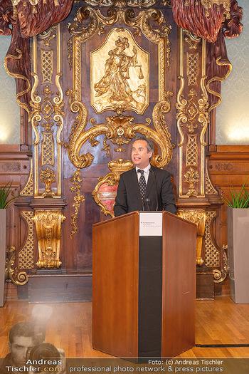 Ehrung Michael Garschall - Palais NÖ, Wien - Mi 28.07.2021 - 18
