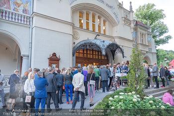 Premiere Ladies Night - Stadttheater Berndorf - Do 05.08.2021 - Andrang beim Einlass ins Stadttheater mit Corona 3G-Nachweis33