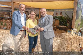Biofeldtage Tag 1 - Seehof, Donnerskirchen - Fr 06.08.2021 - Hans Peter DOSKOZIL, Christa KUMMER, Matthias GRÜN95