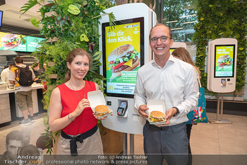 McPlant Präsentation - McDonalds Schwedenplatz - Mo 16.08.2021 - 1