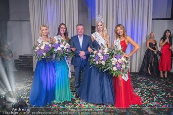 Miss Europe Wahl - Pyramide Vösendorf - Sa 21.08.2021 - Gruppenfotos Siegerinnen, Miss Europe Beatrice KÖRMER, Ilija LU261