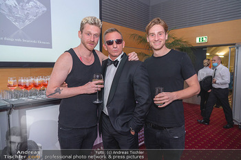 Miss Europe Wahl - Pyramide Vösendorf - Sa 21.08.2021 - Lucas (Lukas) und Florian FENDRICH, James Bond Daniel Craig Doub274