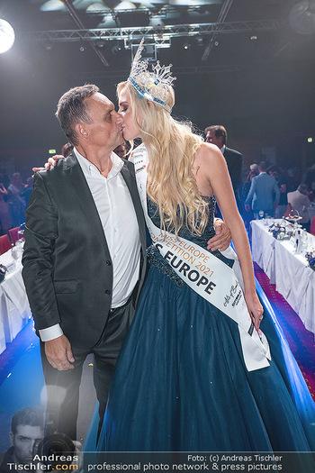 Miss Europe Wahl - Pyramide Vösendorf - Sa 21.08.2021 - Miss Europe Beatrice KÖRMER, Heimo TURIN290