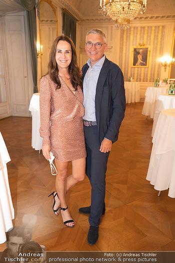 Haydn Gala - Schloss Esterhazy, Eisenstadt - So 22.08.2021 - Maggie ENTENFELLNER mit Ehemann Rainer RADLINGER90