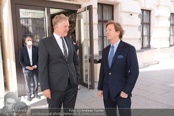 Sebastian Kurz Privatführung - Albertina, Wien - Mo 23.08.2021 - Trevor Dow TRAINA, Klaus Albrecht SCHRÖDER7