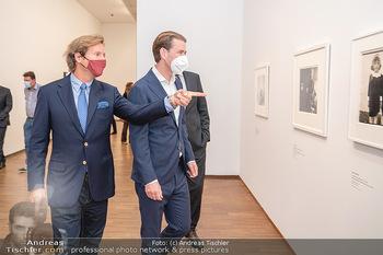 Sebastian Kurz Privatführung - Albertina, Wien - Mo 23.08.2021 - Trevor Dow TRAINA, Sebastian KURZ33