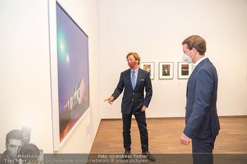 Sebastian Kurz Privatführung - Albertina, Wien - Mo 23.08.2021 - Trevor Dow TRAINA, Sebastian KURZ37