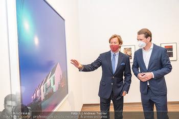 Sebastian Kurz Privatführung - Albertina, Wien - Mo 23.08.2021 - Trevor Dow TRAINA, Sebastian KURZ38