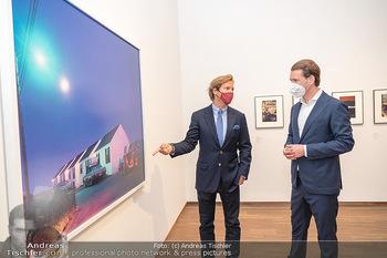 Sebastian Kurz Privatführung - Albertina, Wien - Mo 23.08.2021 - Trevor Dow TRAINA, Sebastian KURZ41