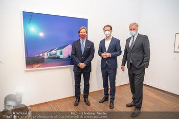 Sebastian Kurz Privatführung - Albertina, Wien - Mo 23.08.2021 - Trevor Dow TRAINA, Klaus Albrecht SCHRÖDER, Sebastian KURZ43